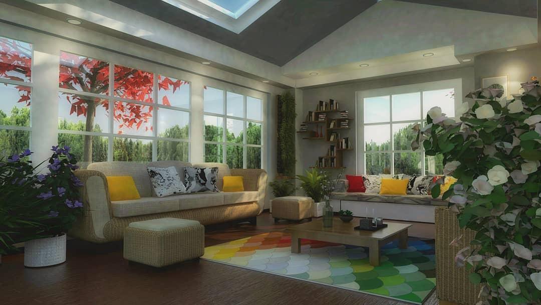 Cozy Sunroom Furniture Ideas tama.hadia