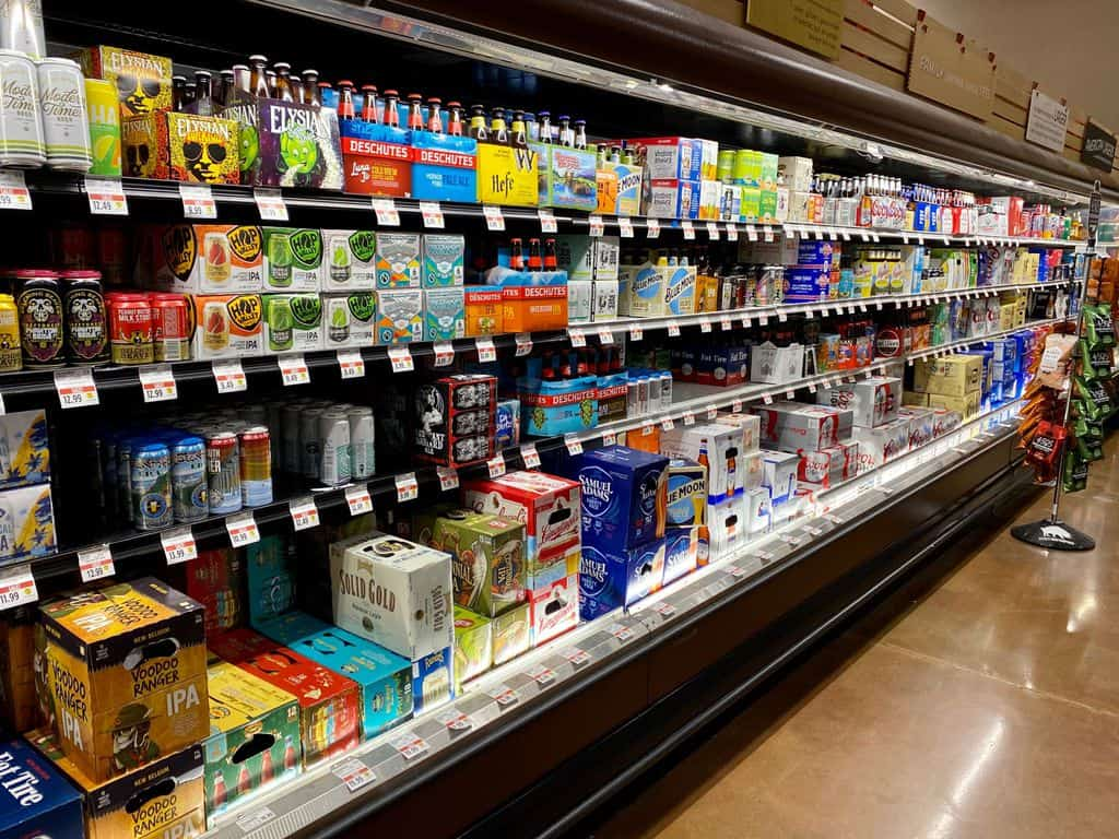 Craft Beer at Store