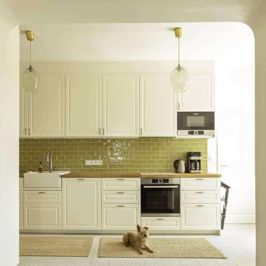 Cream Kitchen Cabinet Color Ideas piskainteriors