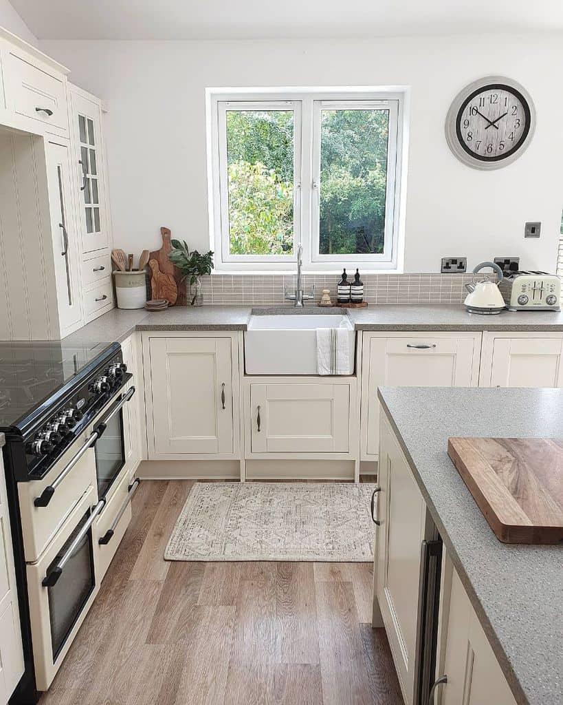 Cream Kitchen Cabinet Color Ideas sylvieathome