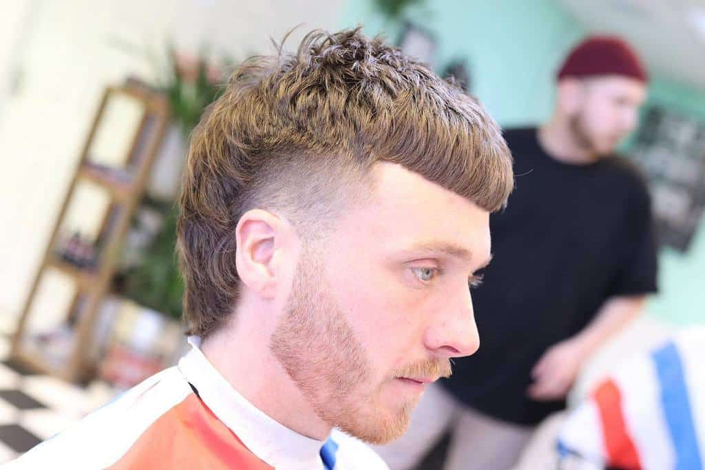 Cropped Mullet