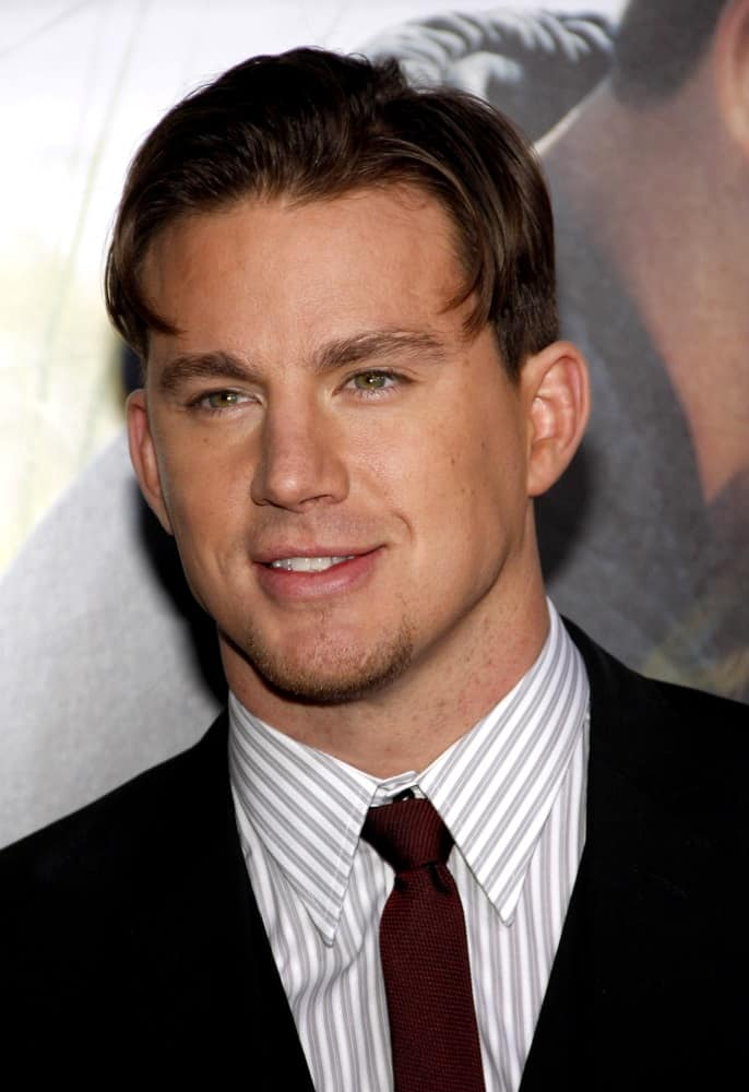 Curtain Hairstyle Channing Tatum