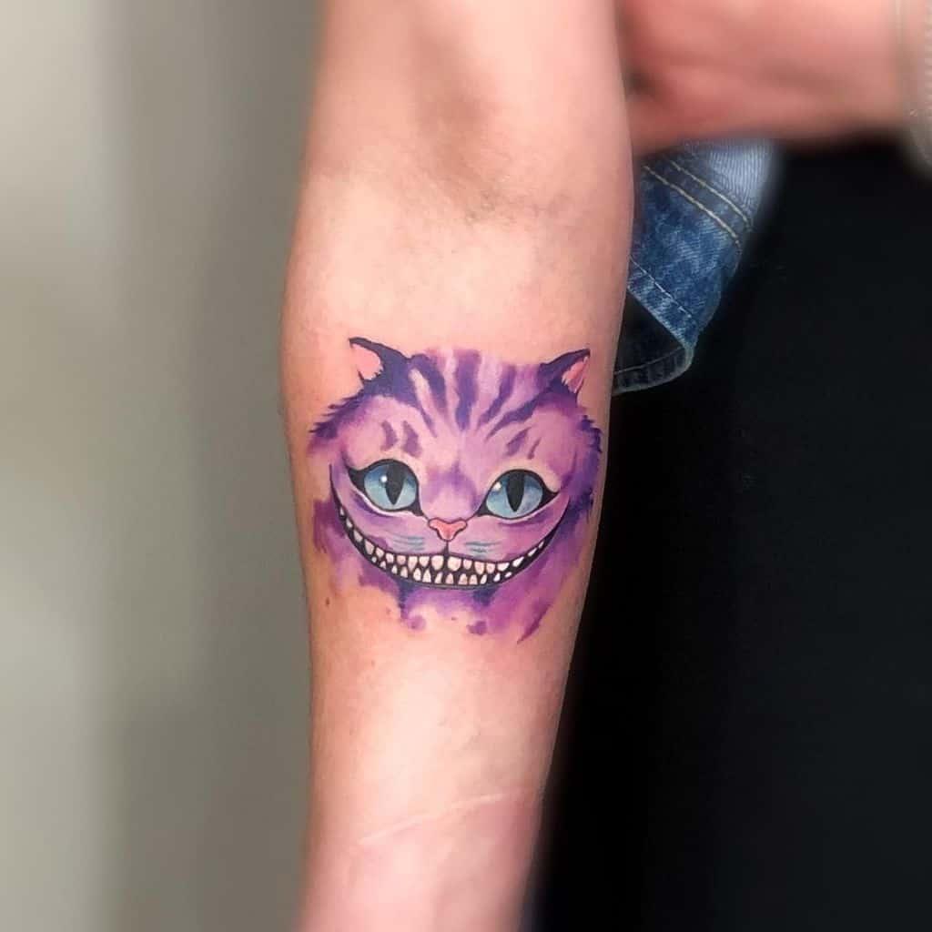 Cute Cheshire Cat Tattoo colombomattia82