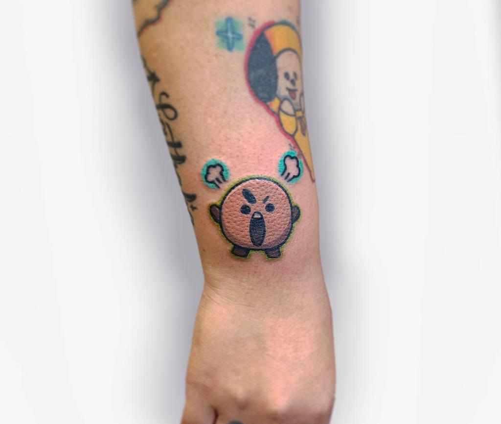Cute Small Wrist Tattoos Sak.squatch