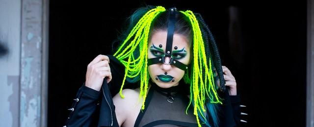 Cyberpunk Hairstyle