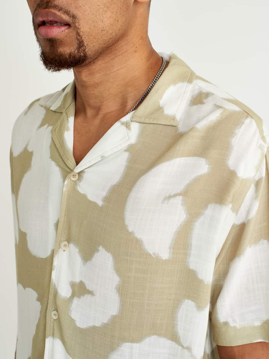 Wax London Didcot Short Sleeve Shirt