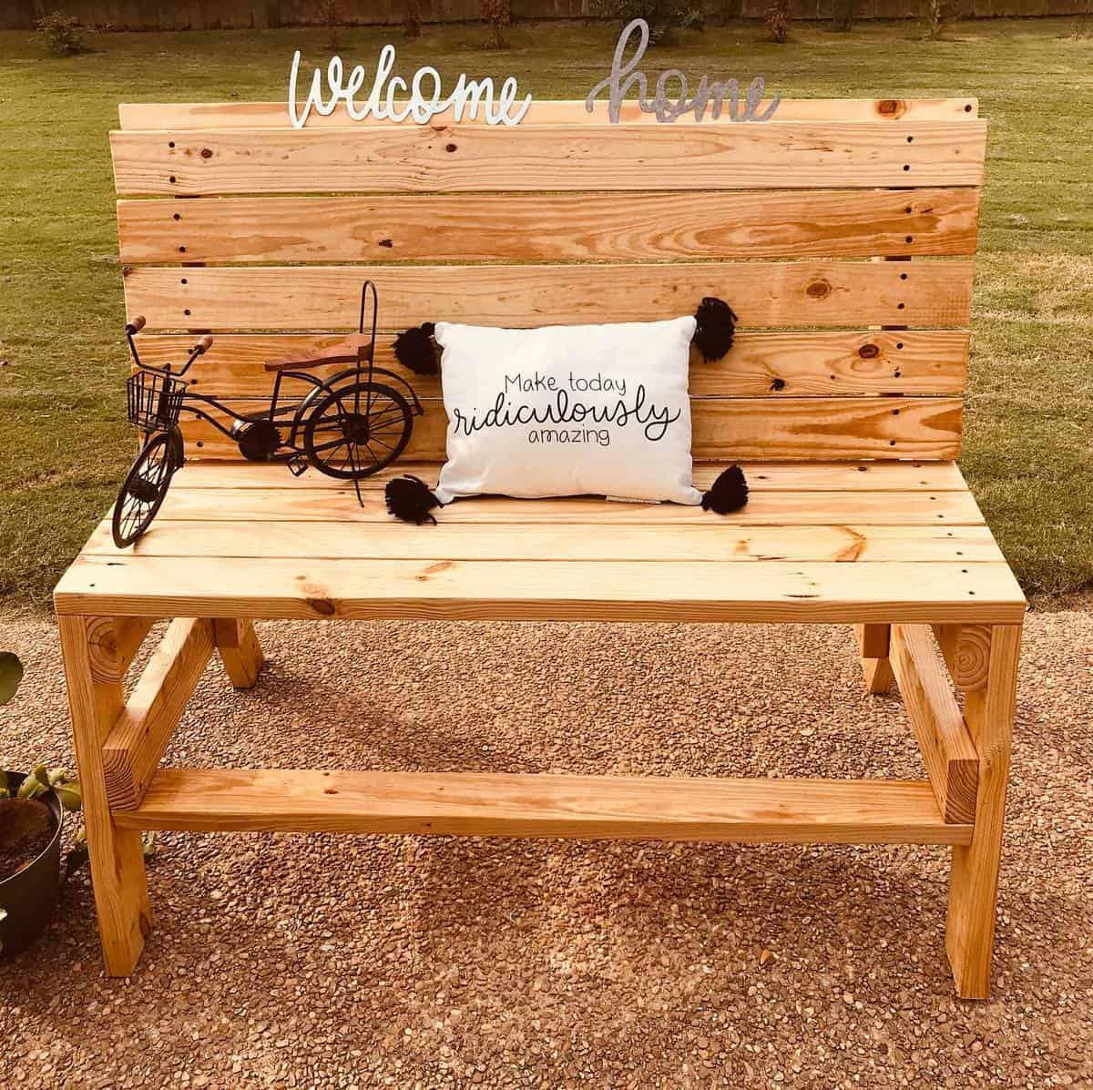 DIY Garden Bench Ideas -dbrllc