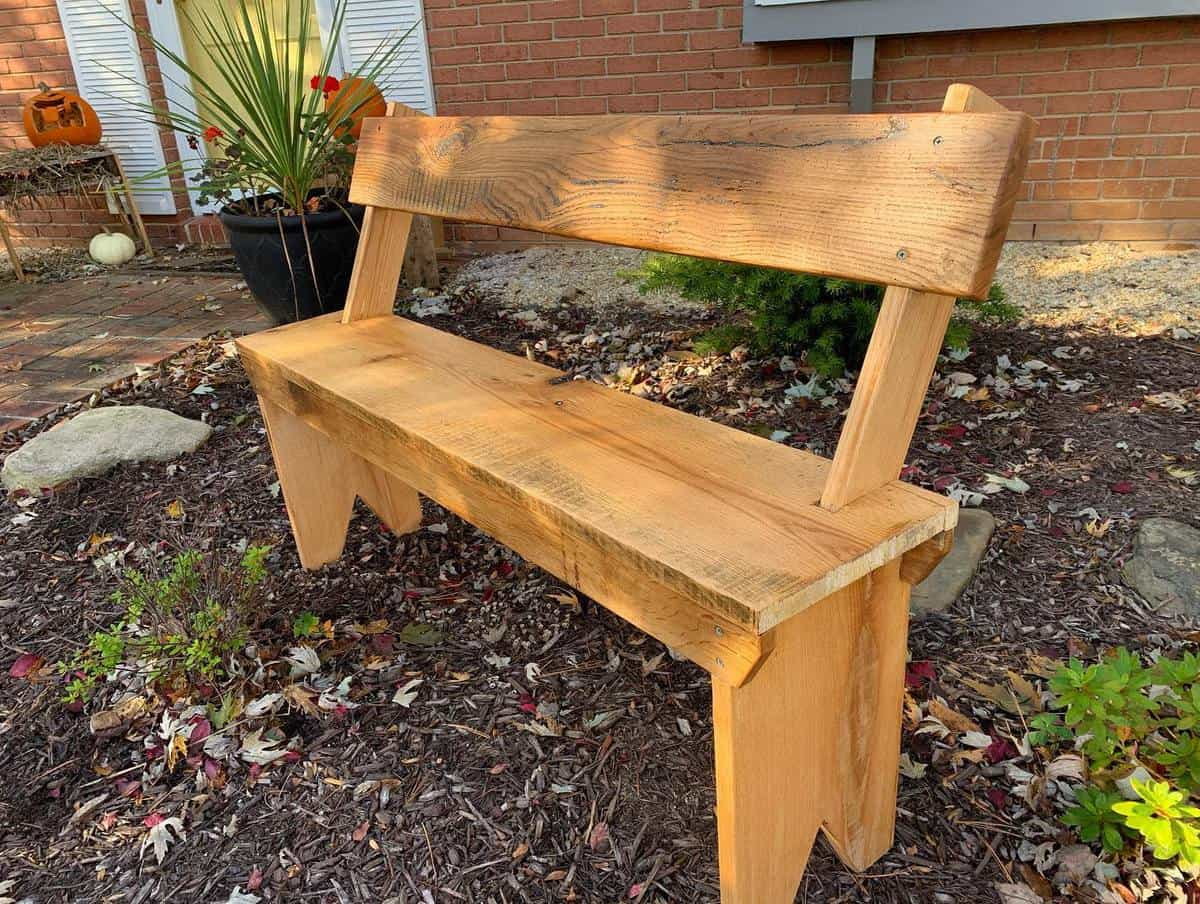 DIY Garden Bench Ideas -longhardwoods