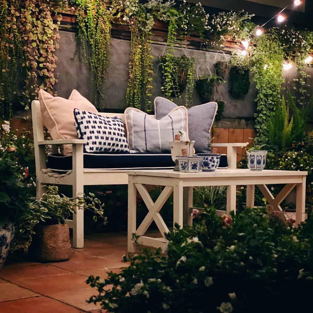 DIY Patio Garden Ideas -mkandnewyorkie