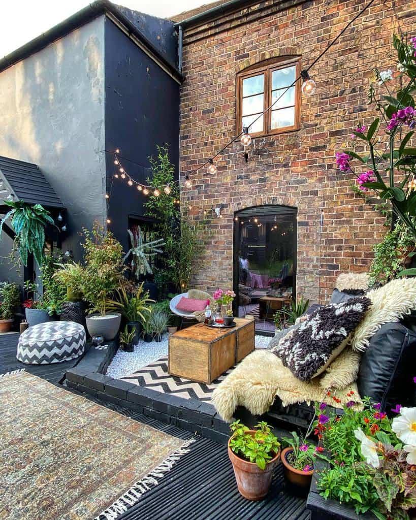 DIY Patio Garden Ideas -ninageehome