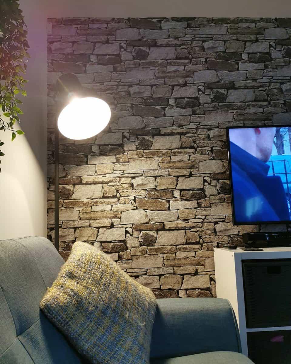 DIY Temporary Wall Ideas -the_lilliepad