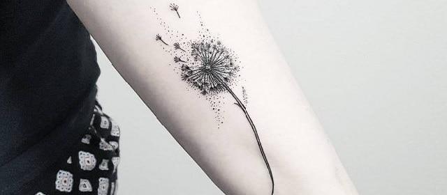 Top 102 Best Dandelion Tattoo Ideas