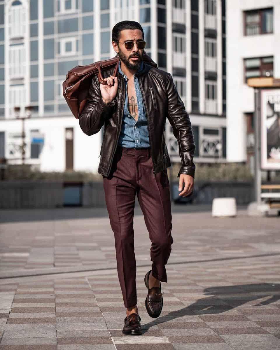 Dapper Leather Jacket Styles -luigi_lauro