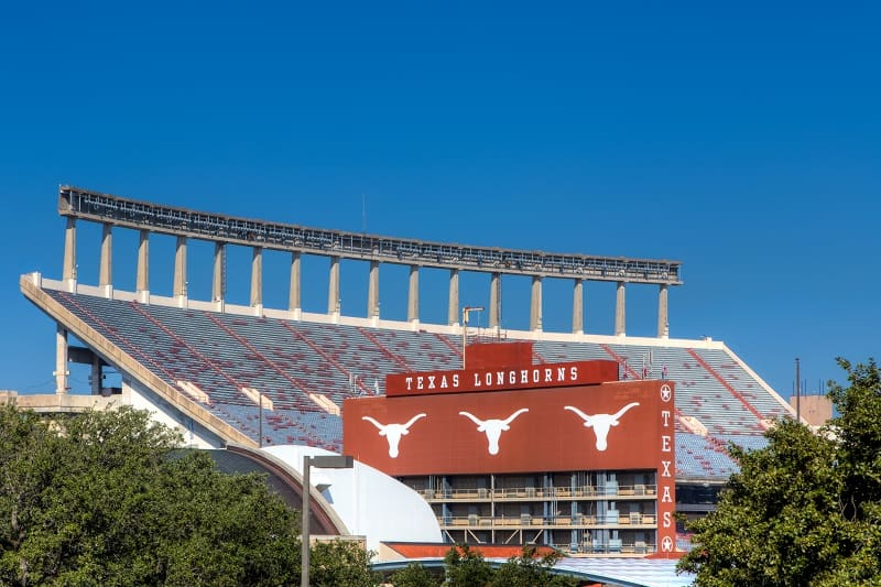 Darrell K Royal-Texas Memorial Stadium at Campbell-Williams Field, University of Texas (Austin, Texas)