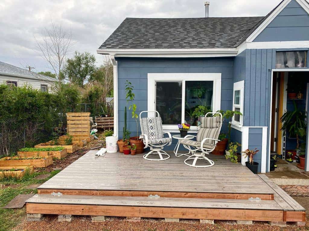 Deck DIY Backyard Ideas -goodygetright