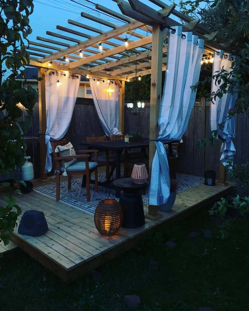 Deck DIY Backyard Ideas -redbarn_resto