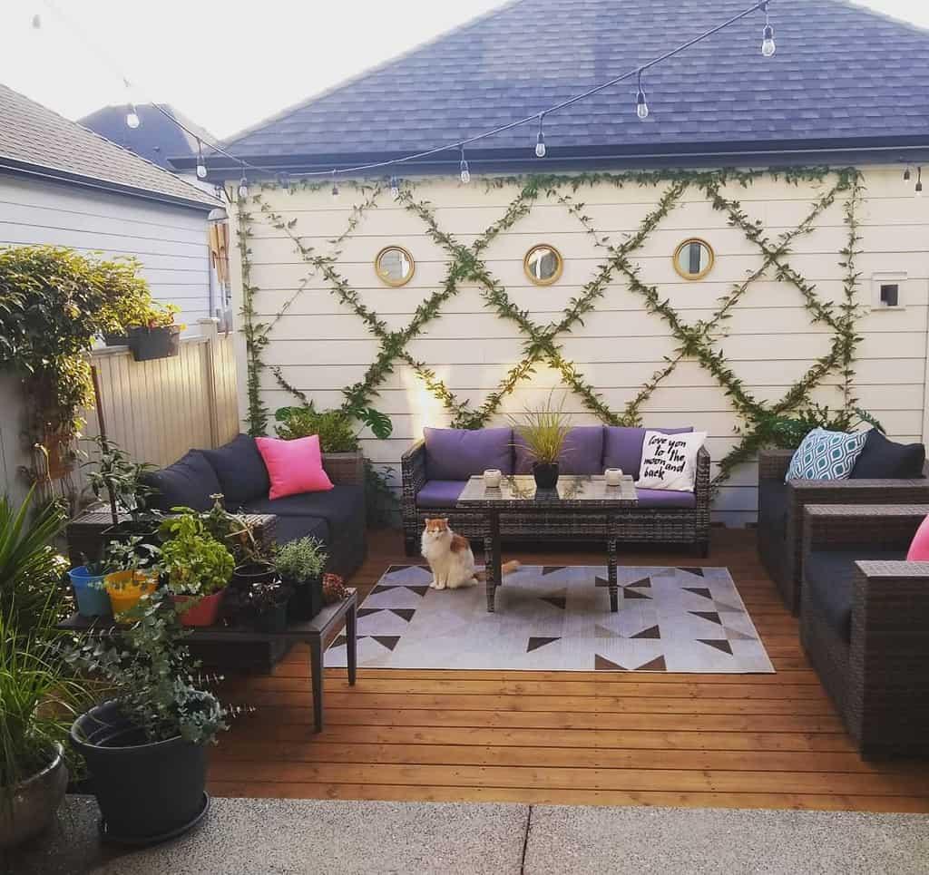 Deck Patio Garden Ideas -iheartplantys