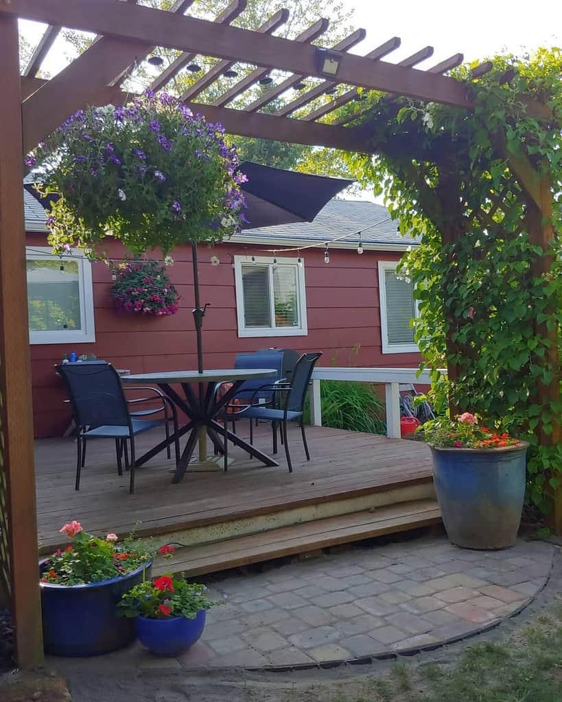 Deck Patio Garden Ideas -layladudley