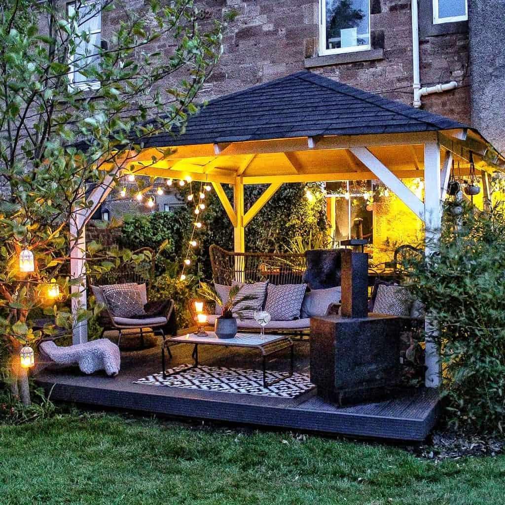 Deck Patio Garden Ideas -the_1882_house