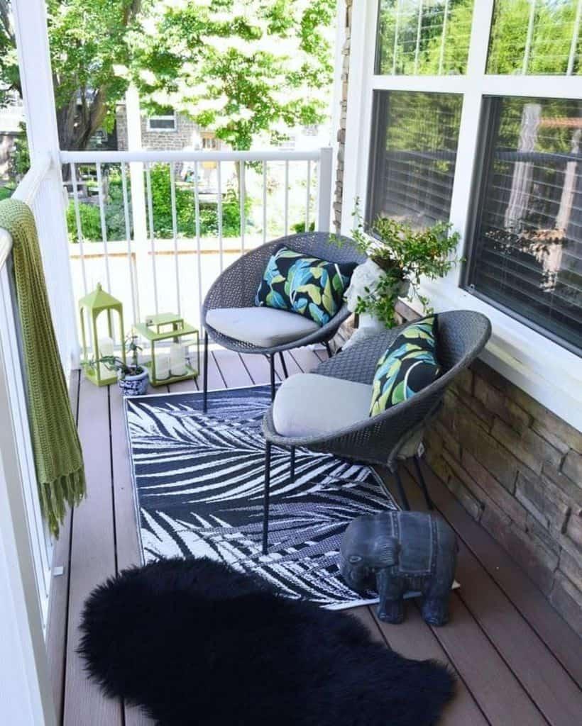 Deck Patio Ideas On A Budget Vintagemeetsglamdecor