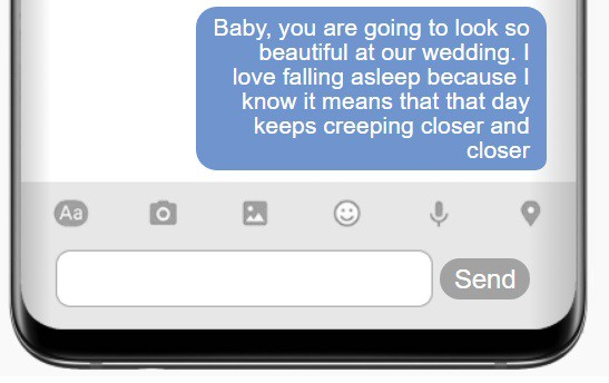 Deep Goodnight Text For A Fiance