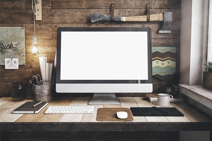 Desktop Computer Workspace