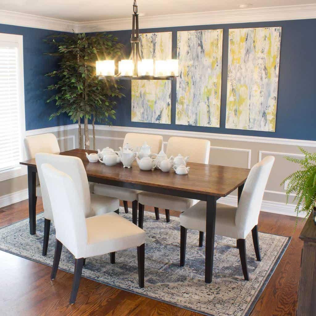Dining Room Transitional Design Chicaandjo