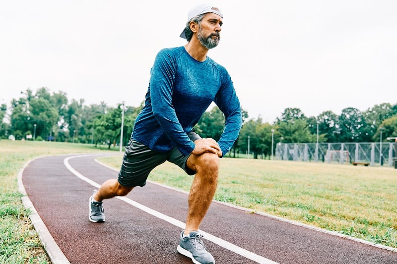 Portrait,Of,A,Senior,Man,Exercising,And,Running,Outdoors