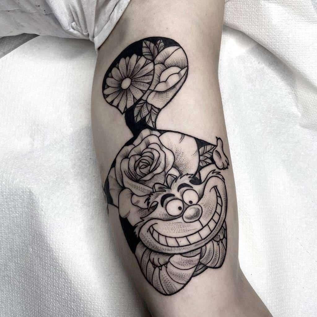 Disney Cheshire Cat Tattoo candyladytattoo
