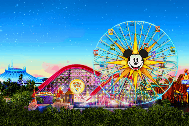 Disneyland Park in Anaheim, California