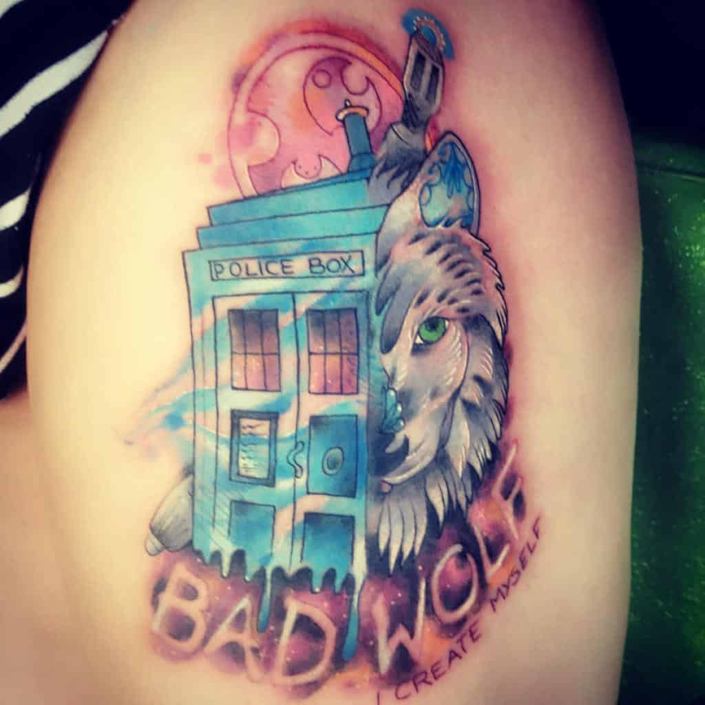 Top 85 Best Doctor Who Tattoo Ideas- [2020 Inspiration Guide]