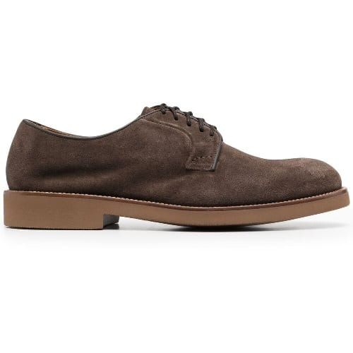 Doucal's Suede Derby Shoes
