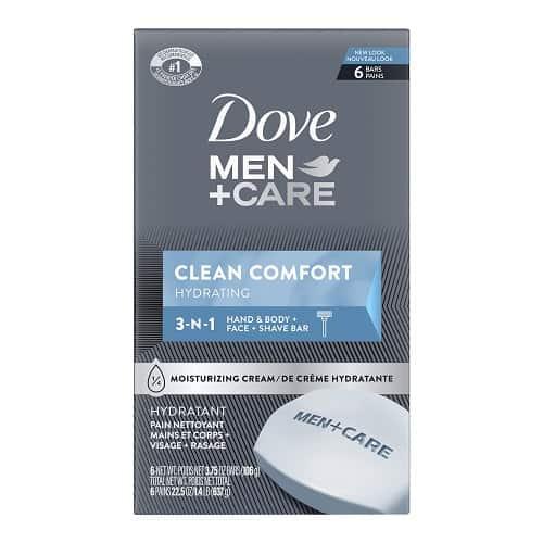 Dove Men+Care Clean Comfort Hydrating Soap