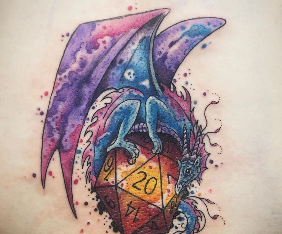 Dragon Dungeons And Dragons Tattoos @xtattooredx