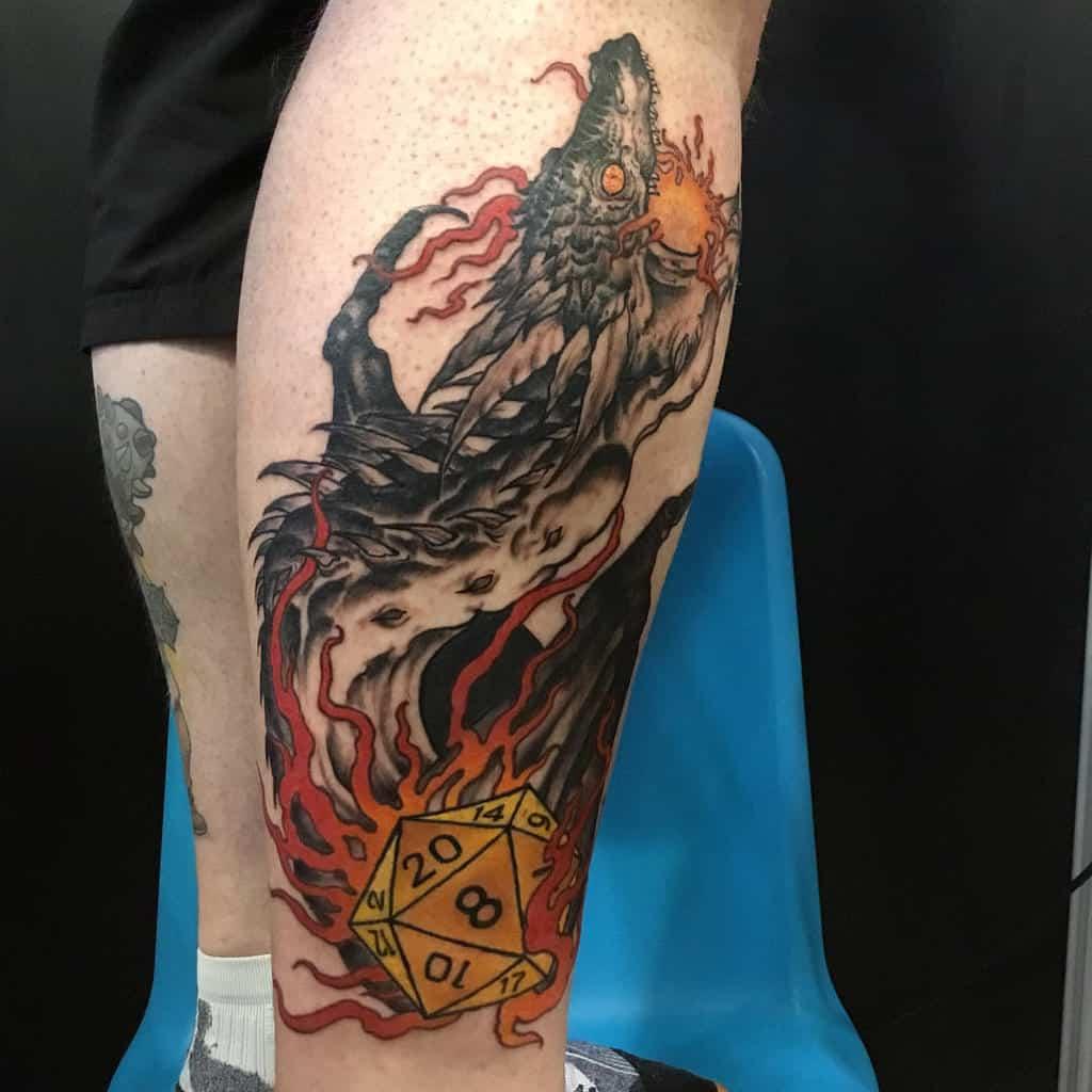 Dragon Dungeons And Dragons Tattoos Jankowzki