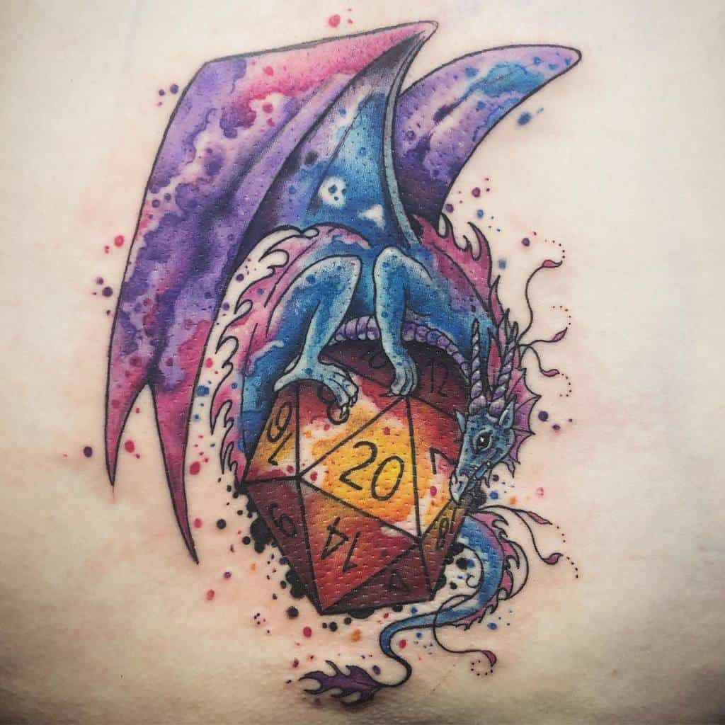 Dragon Dungeons And Dragons Tattoos Xtattooredx