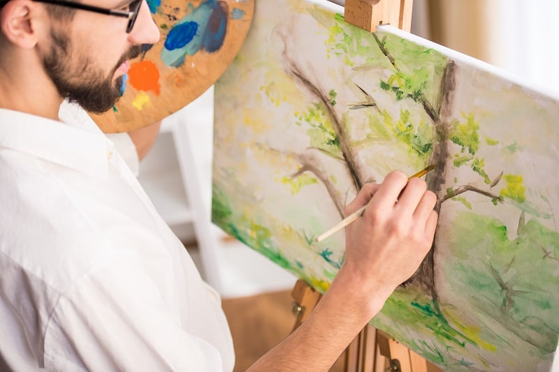 Drawing-and-Painting-Hobbies-For-Men