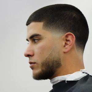 Drop Fade With Buzz Cut