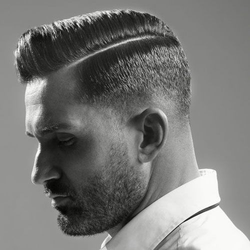 Drop Fade With Pomade