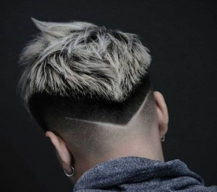 Drop Fade With Disconnected Undercut