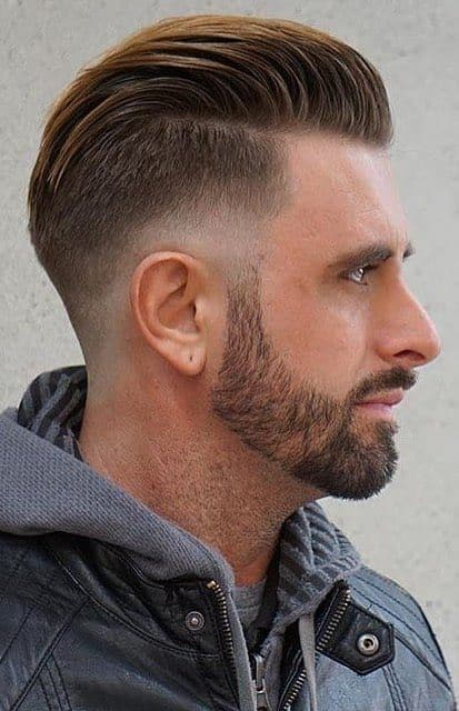 Drop Fade With Slick Back