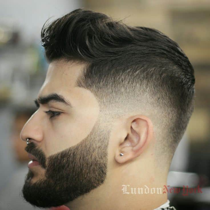 Drop Fade With A Beard