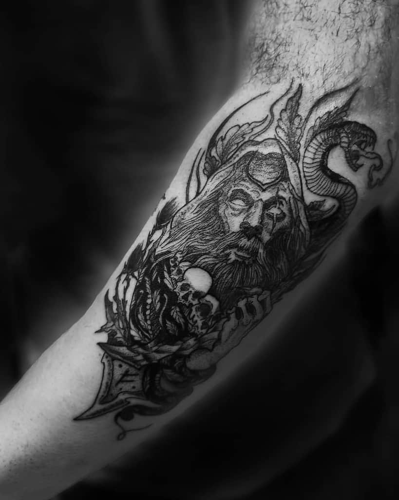 Druid Dungeons And Dragons Tattoos Andrej.eternal Art