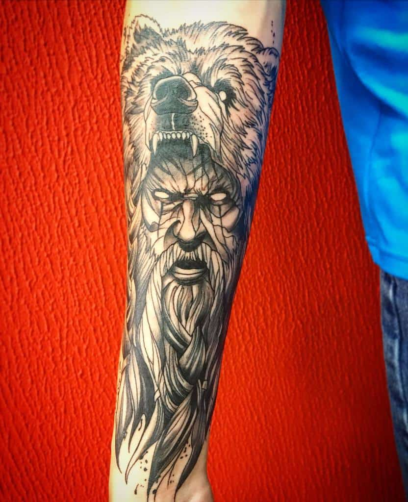 Druid Dungeons And Dragons Tattoos Vanyapentattoo