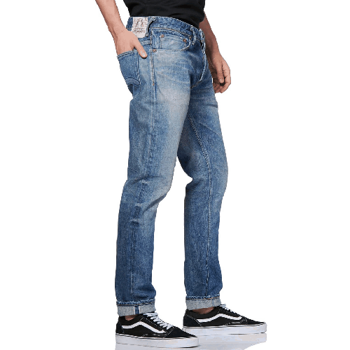 EVISU-Seagull-Embroidered-Slim-Fit-Jeans