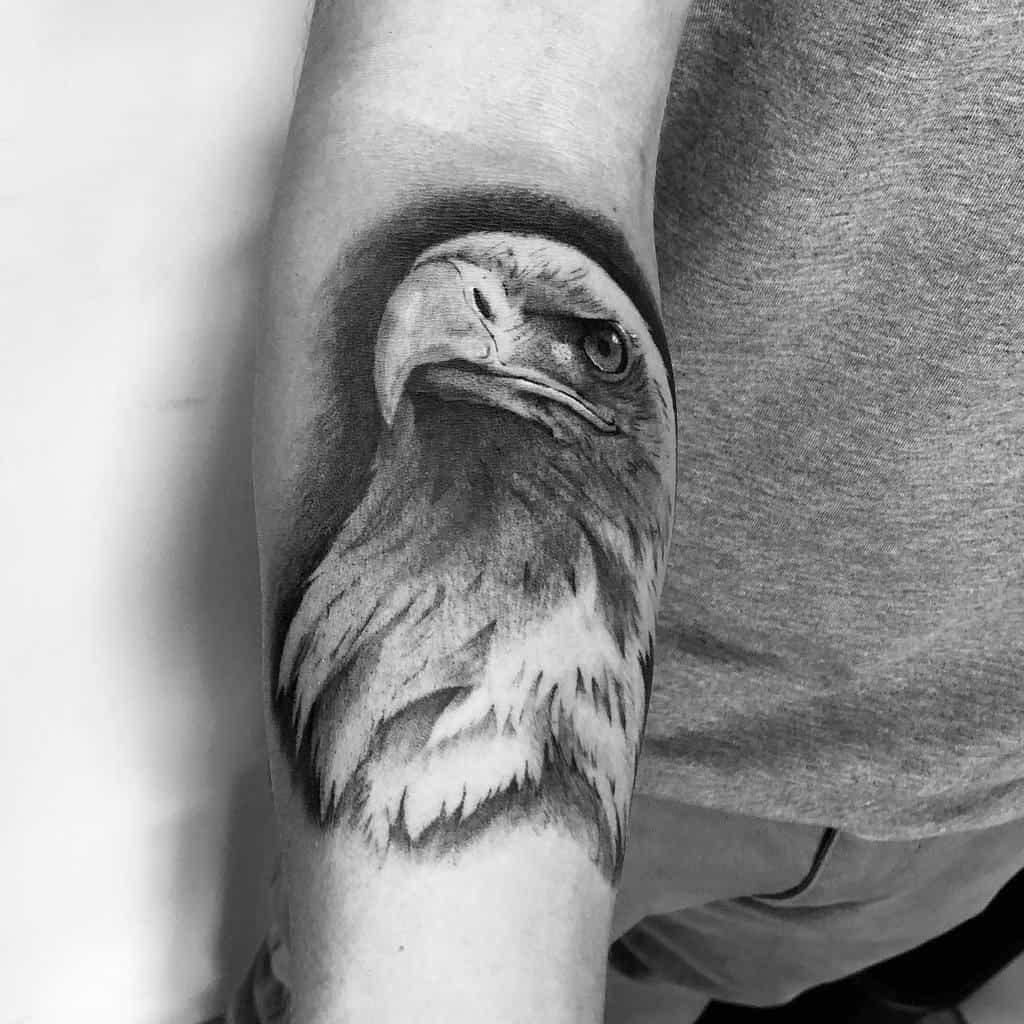 Eagle Head Arm Tattoo alfarocker