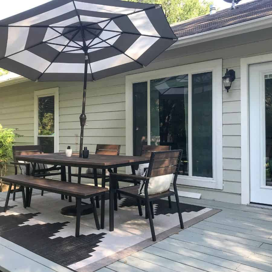 Easy Patio On A Budget Ideas This1983home
