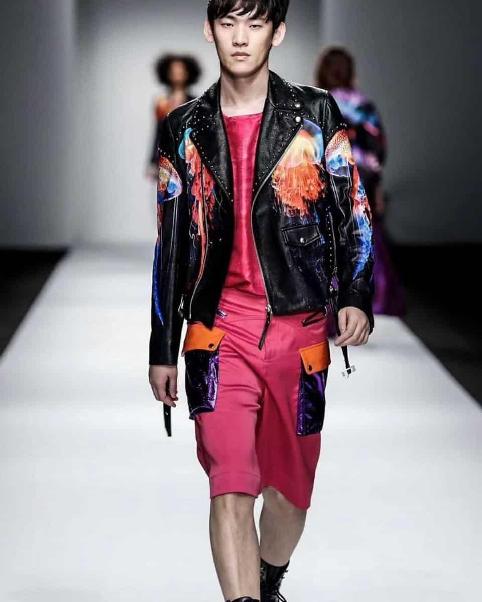Embelish Leather Jacket Styles -cwmalls