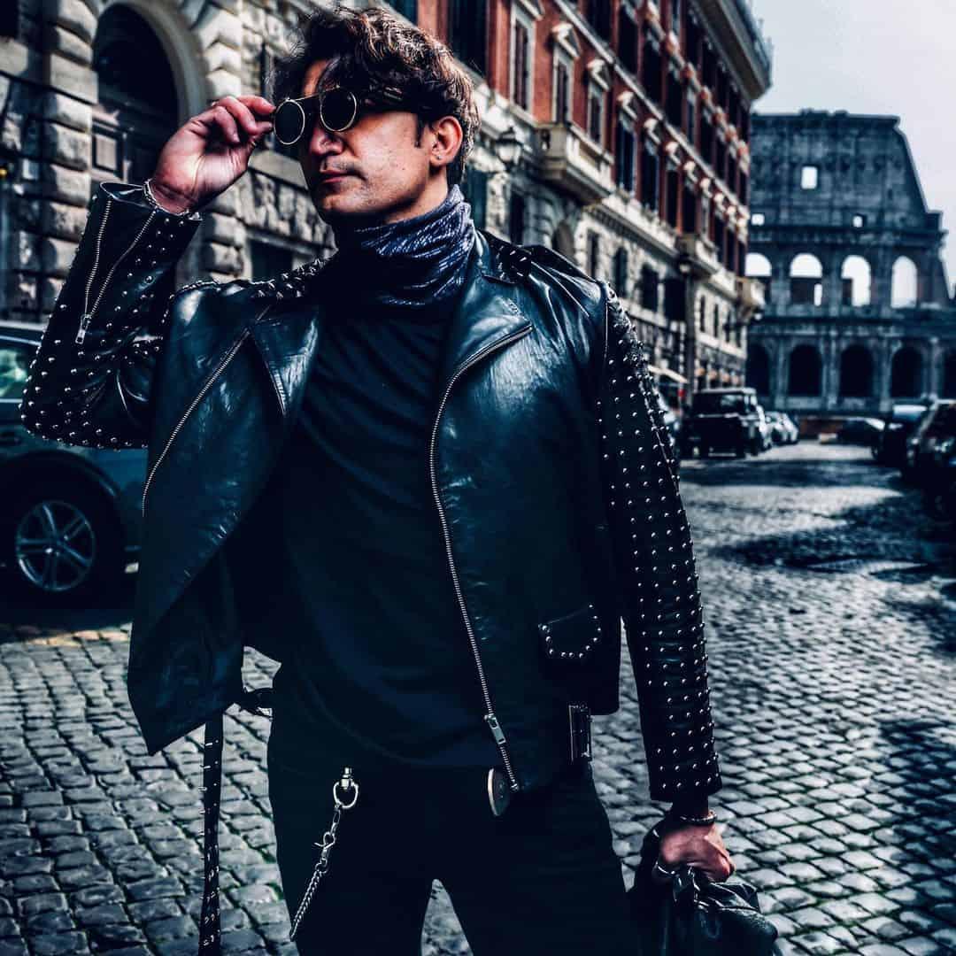 Embelish Leather Jacket Styles -tanniedo