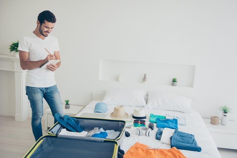 Essentials Travel Checklist For Men
